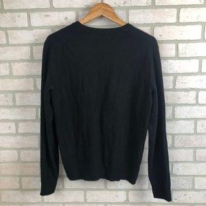 Banana Republic Sweaters - Banana Republic 100% Cashmere Solid Black Sweater